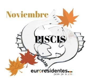 Horóscopo Piscis Noviembre 2019
