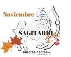 Horóscopo Sagitario Noviembre 2019