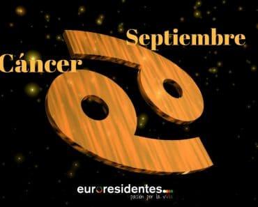 Horóscopo Cáncer Septiembre 2018