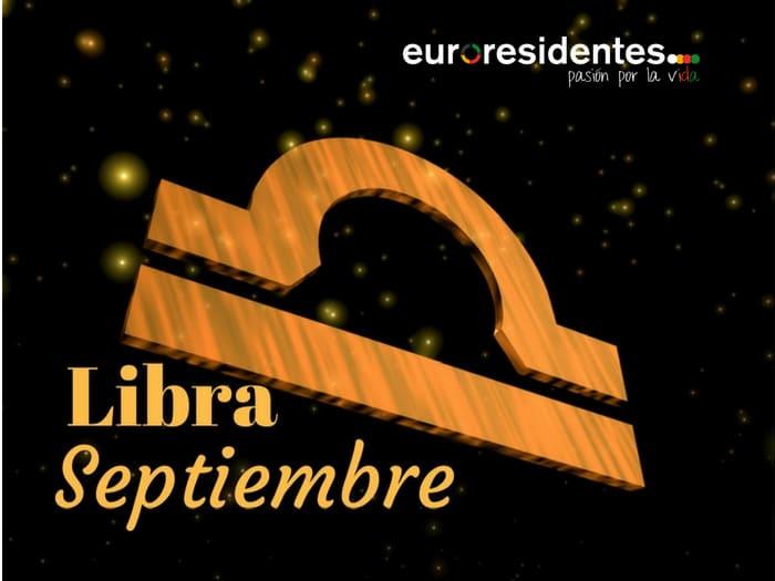 Horóscopo Libra Septiembre 2018