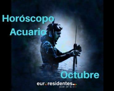 Horóscopo Acuario Octubre 2018