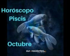 Horóscopo Piscis Octubre 2018
