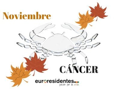 Horóscopo Cáncer Noviembre