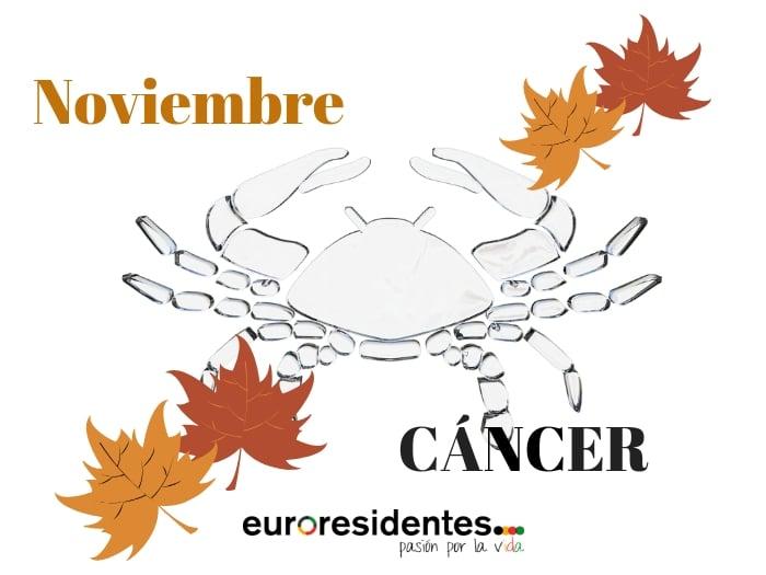 Horóscopo Cáncer Noviembre 2019