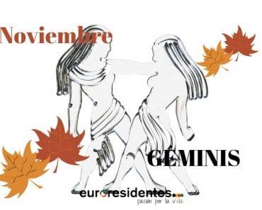 Horóscopo Géminis Noviembre 2020