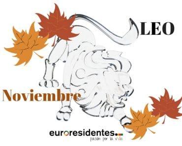 Horóscopo Leo Noviembre 2021