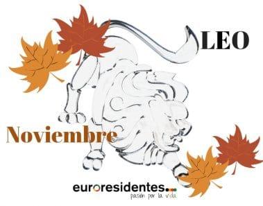 Horóscopo Leo Noviembre 2019