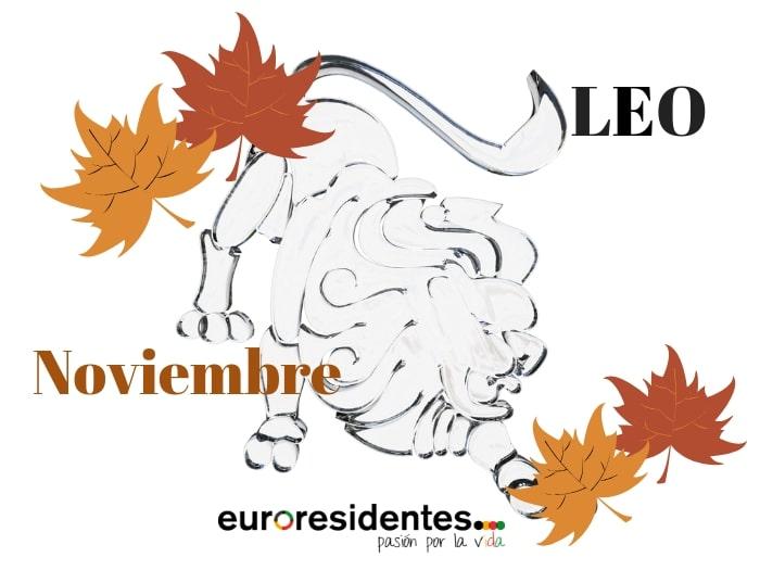 Horóscopo Leo Noviembre 2018
