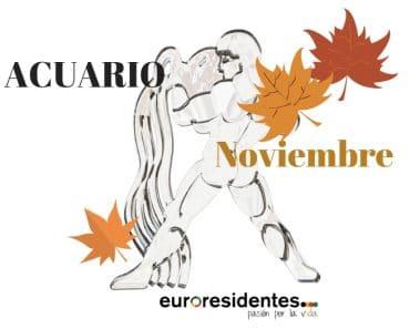Horóscopo Acuario Noviembre 2021