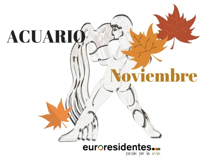 Horóscopo Acuario Noviembre 2020