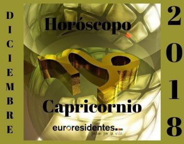 Horóscopo Capricornio Diciembre 2018