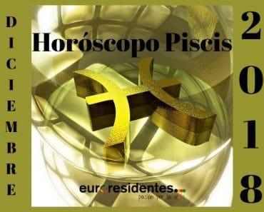 Horóscopo Piscis Diciembre 2018