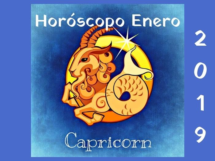 Horóscopo Capricornio Enero 2019