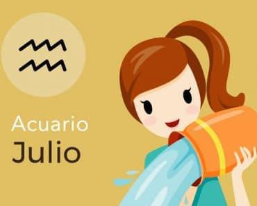 Horóscopo Acuario Julio 2019