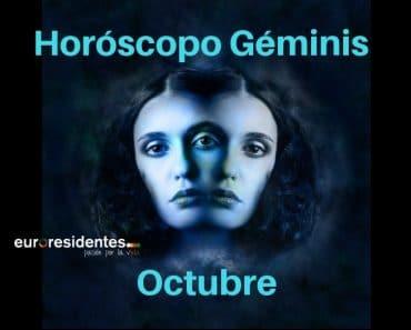 Horóscopo Géminis Octubre 2020