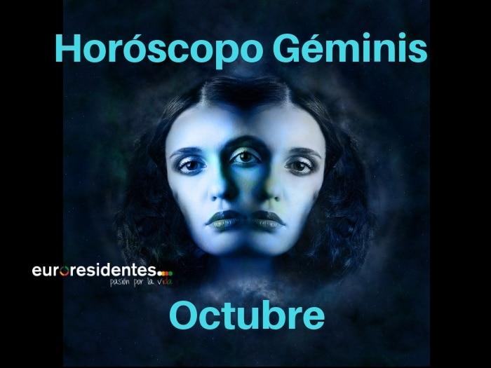 Horóscopo Géminis Octubre 2021
