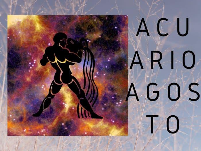 Horóscopo Acuario Agosto 2019