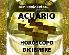 Horóscopo Acuario Diciembre 2019