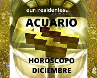 Horóscopo Acuario Diciembre 2020