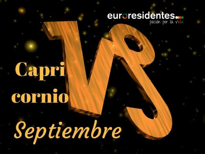 Horóscopo Capricornio Septiembre 2019