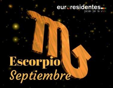 HoróscopoEscorpio Septiembre 2019