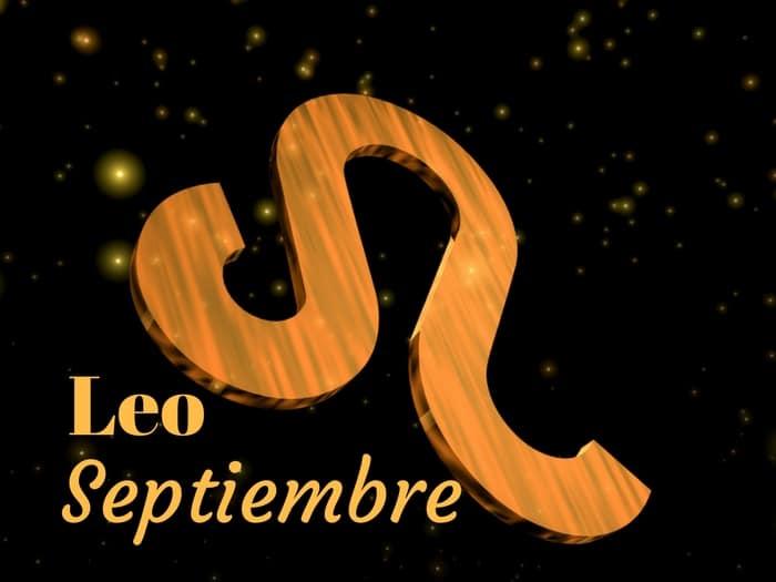 Horóscopo Leo Septiembre 2019