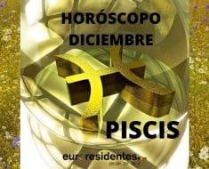 Horóscopo Piscis Diciembre 2020