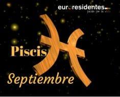 Horóscopo Piscis Septiembre 2019