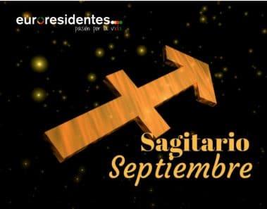 Horóscopo Sagitario Septiembre 2021