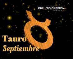 Horóscopo Tauro Septiembre 2021