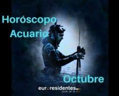 Horóscopo Acuario Octubre 2020