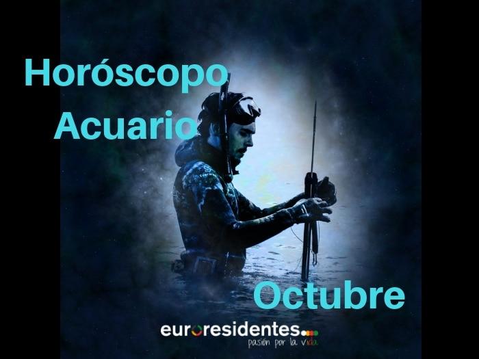 Horóscopo Acuario Octubre 2021