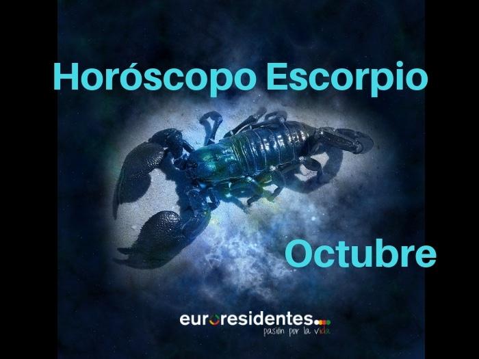 Horóscopo Escorpio Octubre 2021