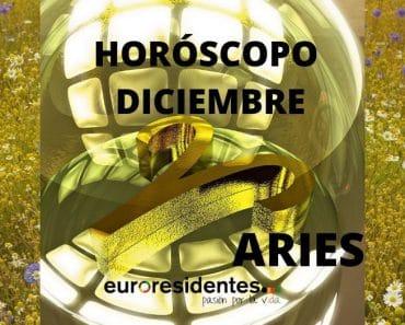 Horóscopo Aries Diciembre 2020