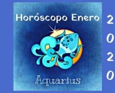 Horóscopo Acuario Enero 2020