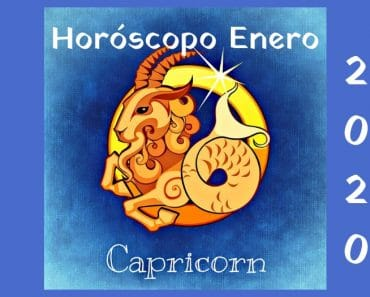 Horóscopo Capricornio Enero 2020