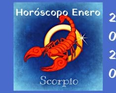 Horóscopo Escorpio Enero 2020