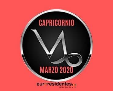 Horóscopo Capricornio Marzo 2020