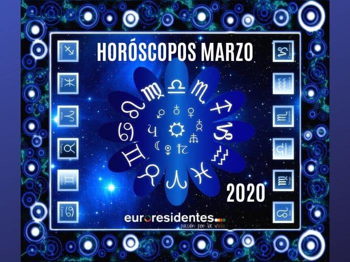 Horóscopos Marzo 2020