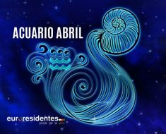 Horóscopo Acuario Abril 2020