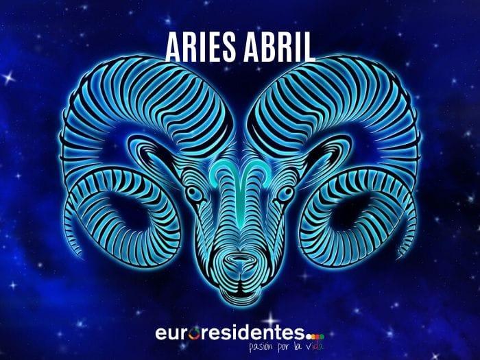 Horóscopo Aries Abril 2020
