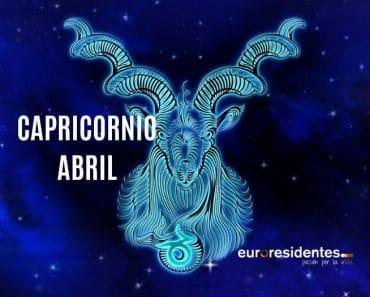 Horóscopo Capricornio Abril 2021