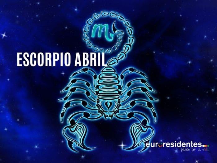 Horóscopo Escorpio Abril 2020