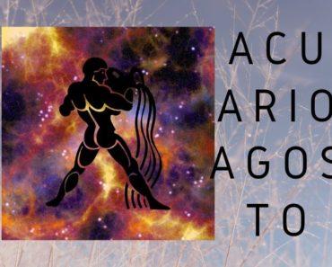 Horóscopo Acuario Agosto 2020