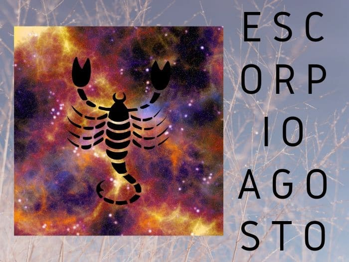 Horóscopo Escorpio Agosto 2020