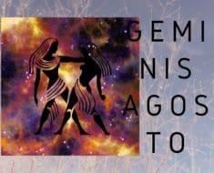 Horóscopo Géminis Agosto 2020