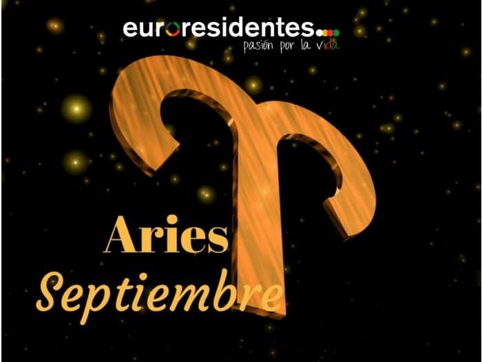 Horóscopo Aries Septiembre 2020