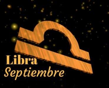 Horóscopo Libra Septiembre 2020