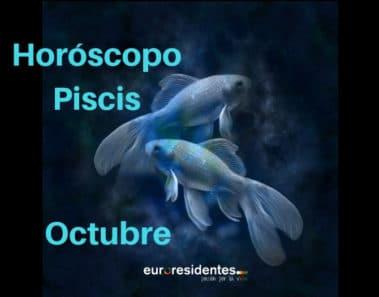 Horóscopo Piscis Octubre 2020