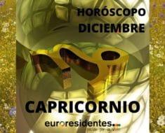 Horóscopo Capricornio Diciembre 2020
